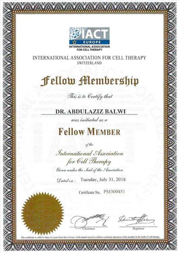 elithair certificato membro associazione iact svizzera